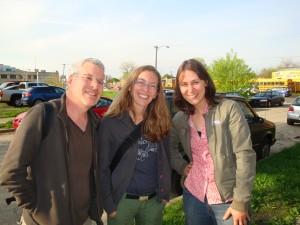 Andrew Herrscher, Mireille Rodier and Gina Reichert in Detroit